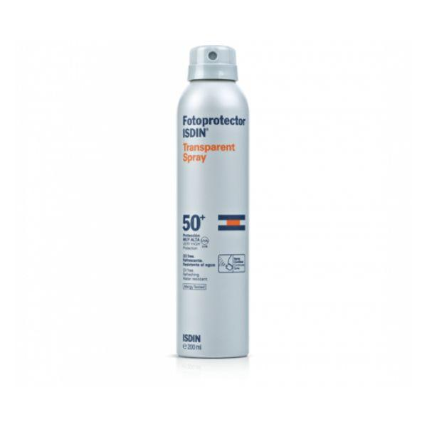 Fotoprotector Isdin Transparent Spray SPF50+ x 250mL