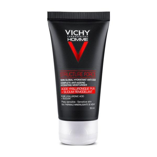 Vichy Homme Structure Force Rosto 50 ml
