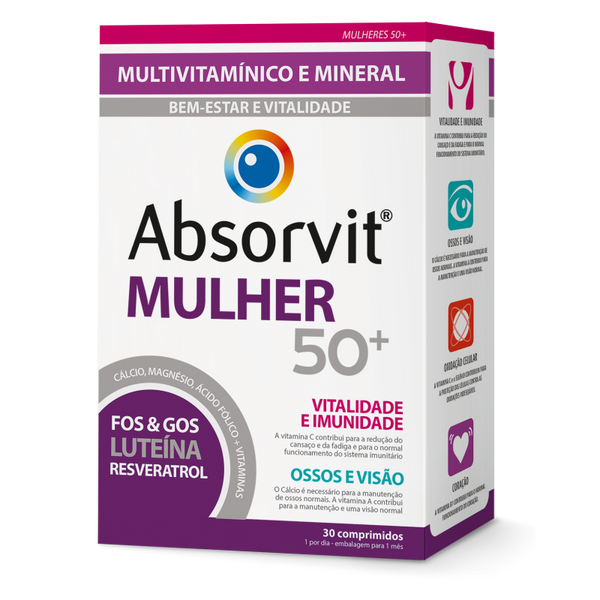 Absorvit Mulher 50+ X30 Comprimidos