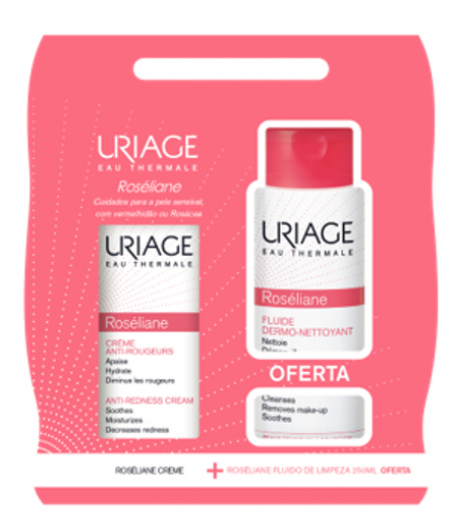 Uriage Roseliane Creme Of Roseliane Fluído Limpeza 250 mL