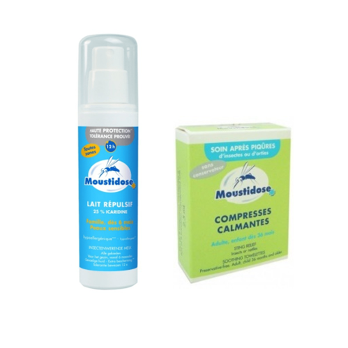 Moustidose Repel 125Ml Com Oferta De Compressa Calmantes