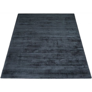 Karpet Viscose Dark Blue 160 x 230 cm
