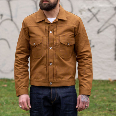Jacket J06 IT23 Duckbrown