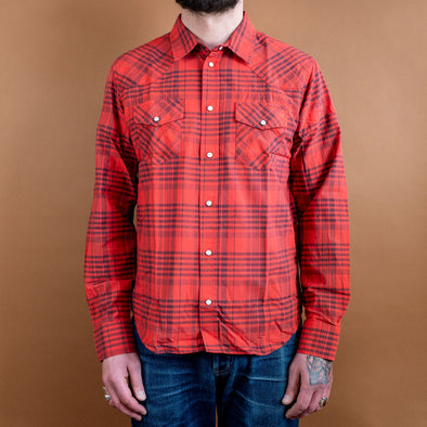 Western Shirt Maasai Check Red