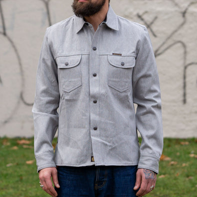 Copeland Shirt Grey Selvage