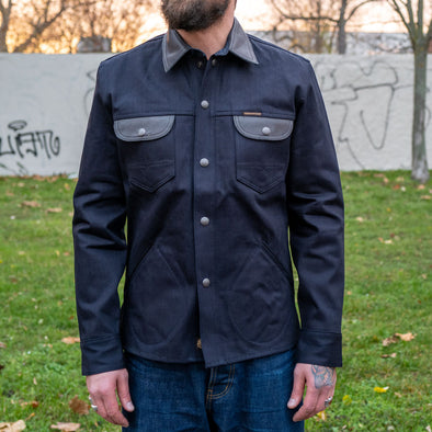 Eagle Rising Jacket Two-Tone Indigo/Black