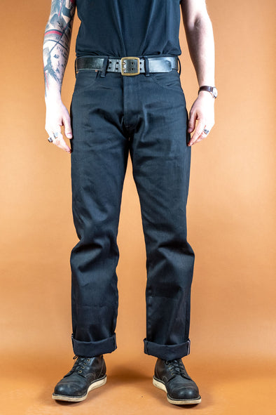 Kirk Jeans Gunpowder Black