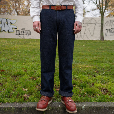 Brooklyn Trousers Denim Tweed