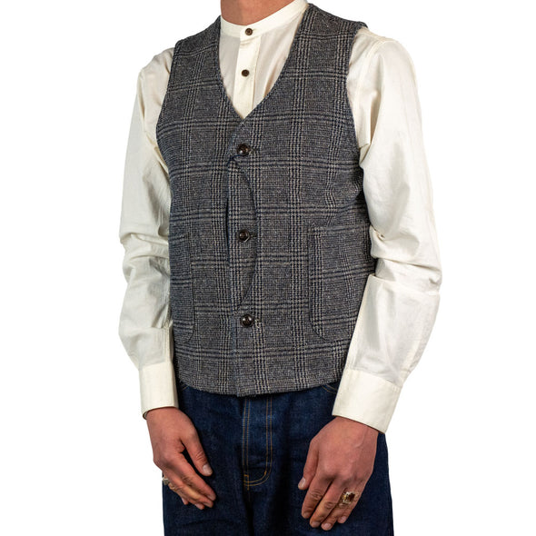 Denim Tweed Hunting Vest