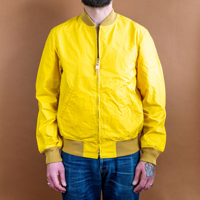 Bomber Jacket Yellow