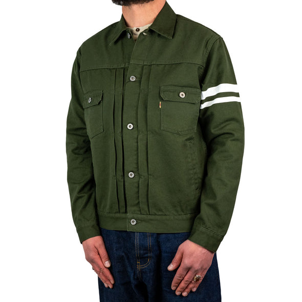 Canvas Type 2nd Jacket Green