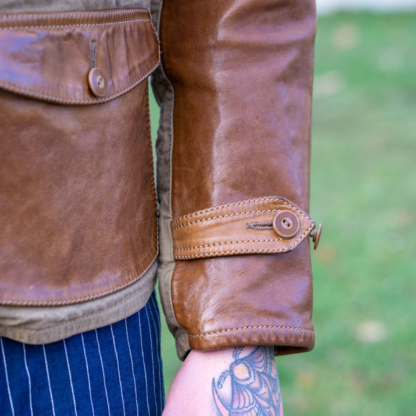 Jacket 1942tend Canvas Horsehide