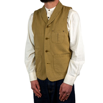 Vintage Oxford Shawl Collar Vest