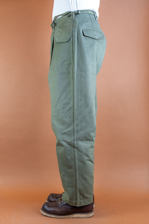 S51 Chino Wide Green