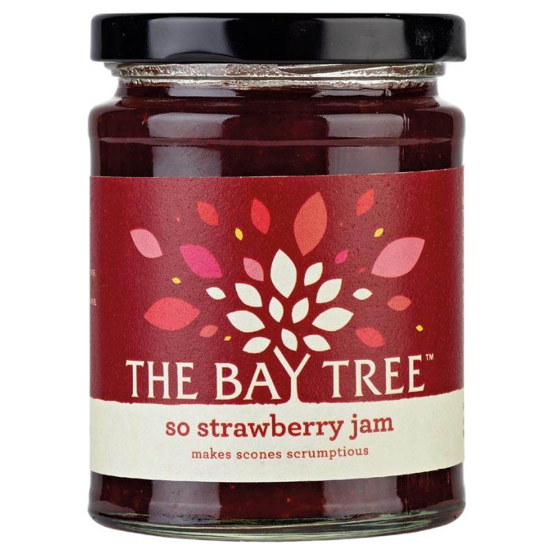 So Strawberry Jam - The Bay Tree 340g