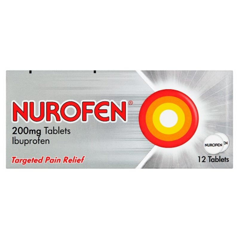 Nurofen 200mg Tablets 12 Tablets