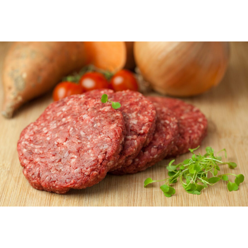 Bakers the Butchers -handmade beef burgers 2x 4 oz (c.115g)