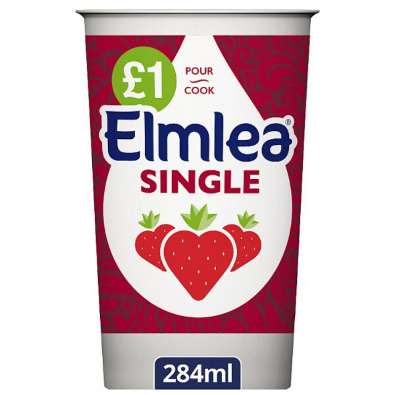 Elmlea Single Cream 284g