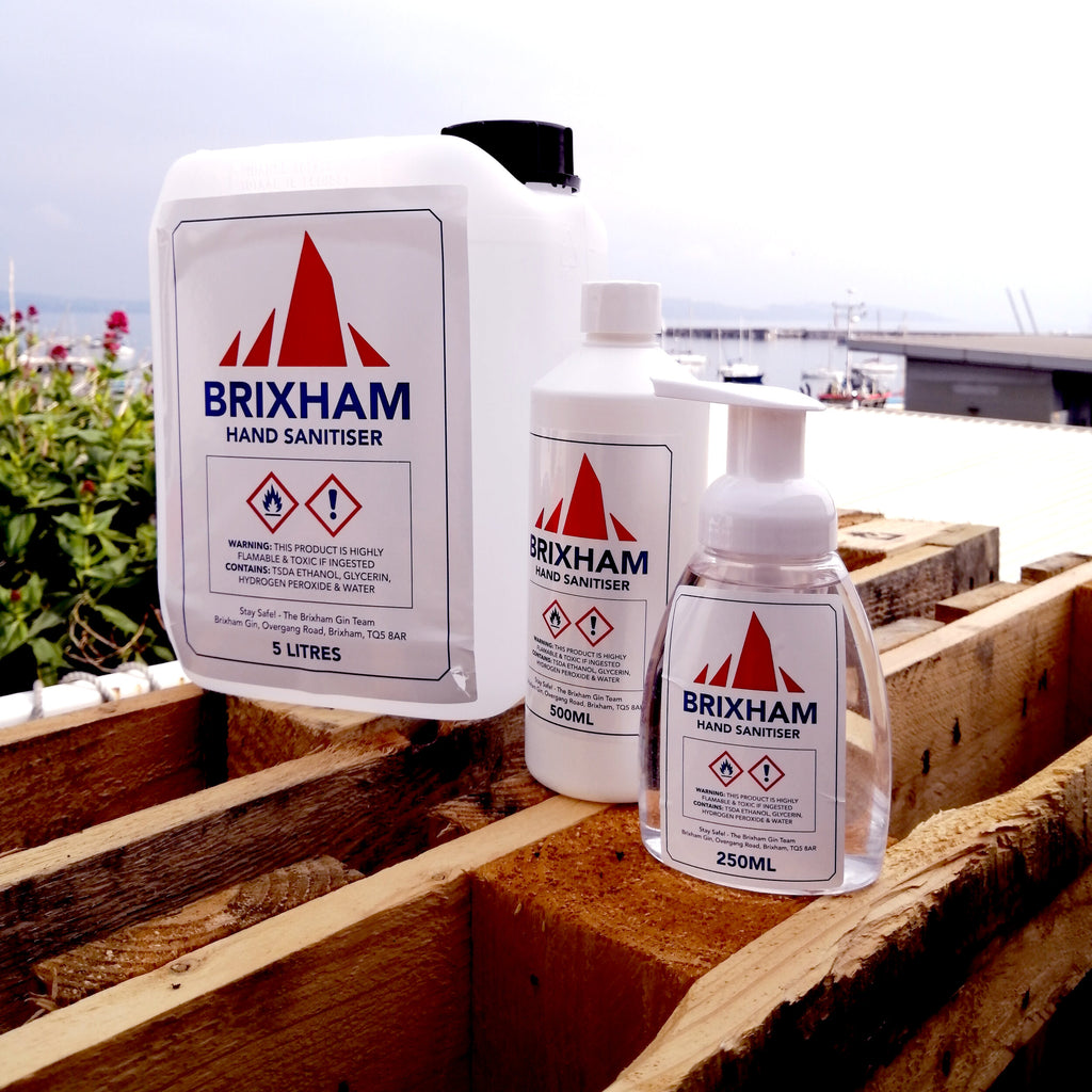 Hand Sanitiser - Brixham Gin (2 sizes)