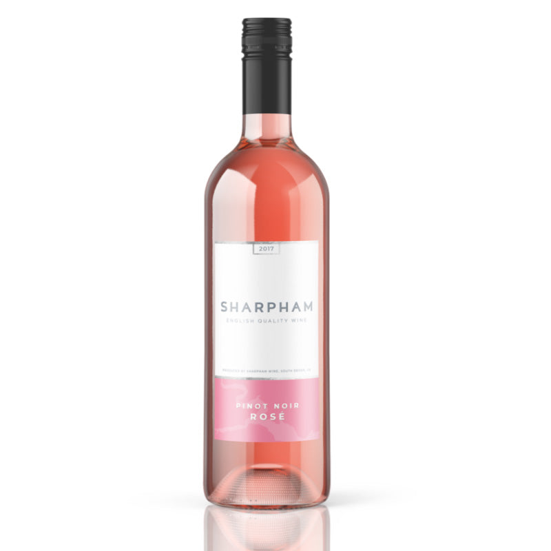 Sharpham Pinot Noir Rose - from the banks of the River Dart 75cl