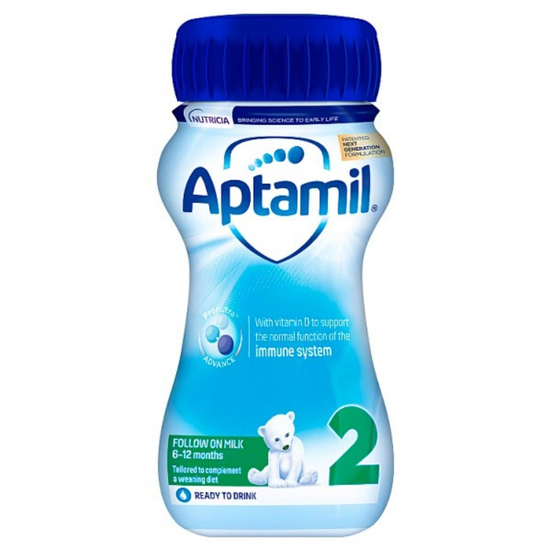 Aptamil 2 Follow on Milk 200 ml