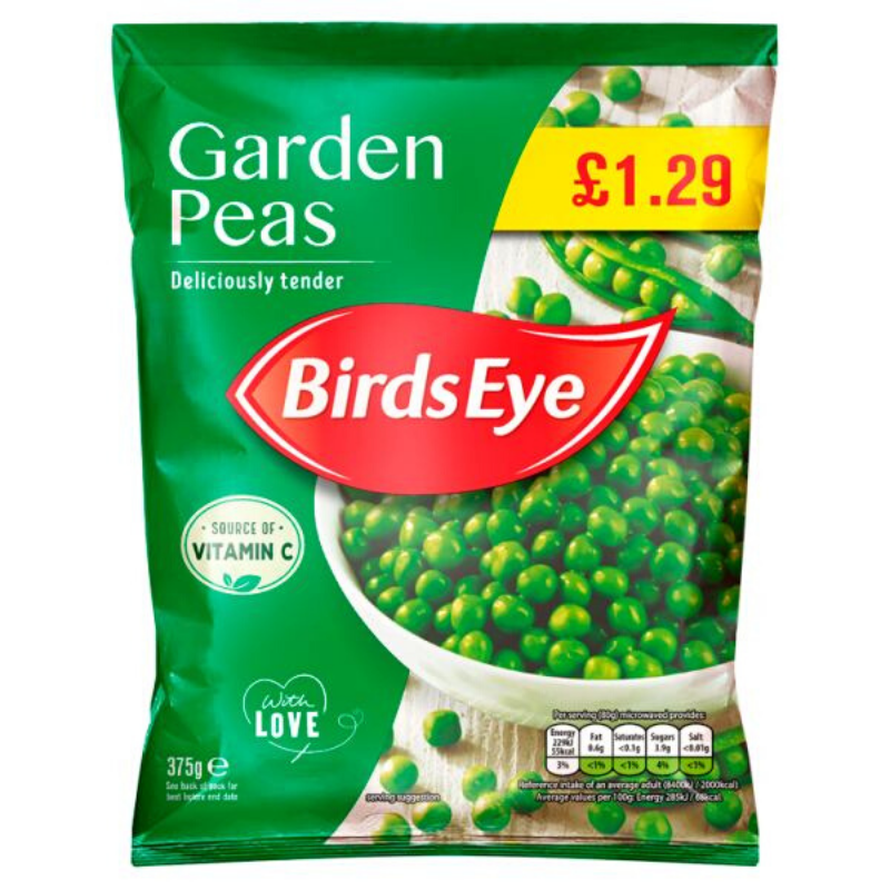 Birds Eye Peas 375g