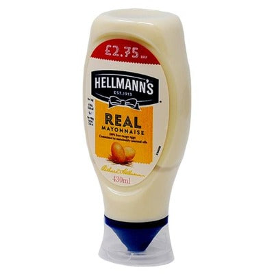 Hellmans Mayonnaise 430ml