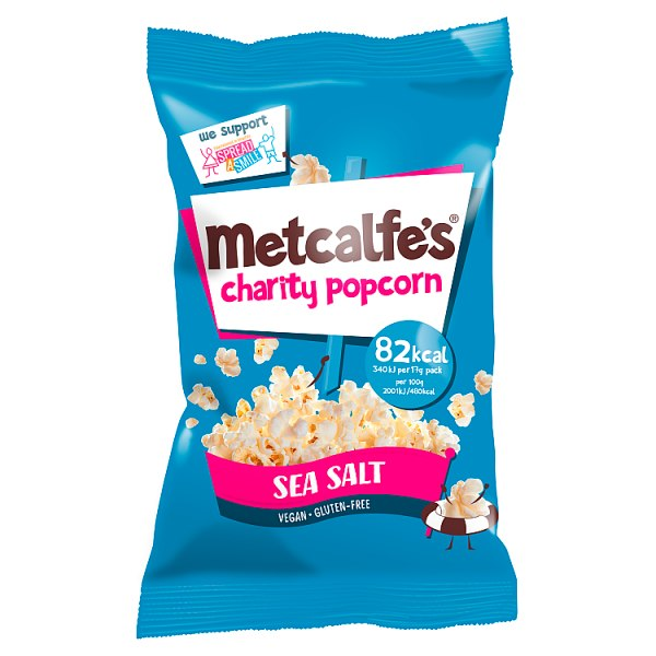 Metcalfe's Charity Popcorn Sea Salt 17g