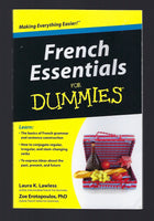 French Essentials for Dummies - Laura K. Lawless and Zoe Erotopoulos - BREF15027 - BOO