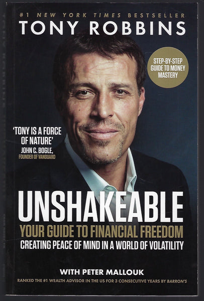 Unshakable: Your Guide to Financial Freedom - Tony Robbins - BREF15285 - BOO