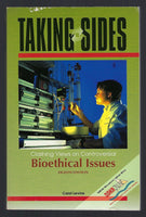 Taking Sides: Clashing Views on Controversial Bioethical Issues (8th edition) - Carol Levine - BSCI15231 - BOO