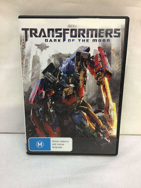DVD - Transformers: Dark of the Moon - M - DVDAC5070 DVDSF - GOL
