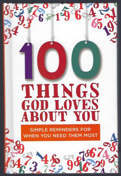 100 Things God Loves About You - BREL15119 - BOO
