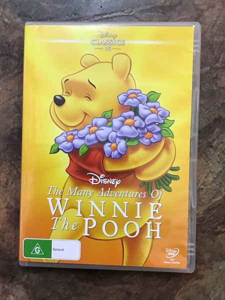 DVD - The Many Adventures of Winnie the Pooh - G - DVDKF  - GOL