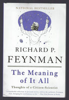 The Meaning of It All - Richard P. Feynman - BSCI15144 - BOO