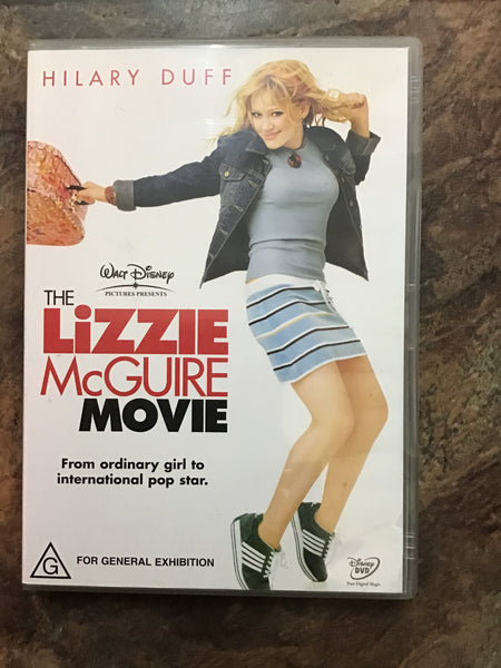 DVD - The Lizzie Maguire Movie - G - DVDKF - GOL