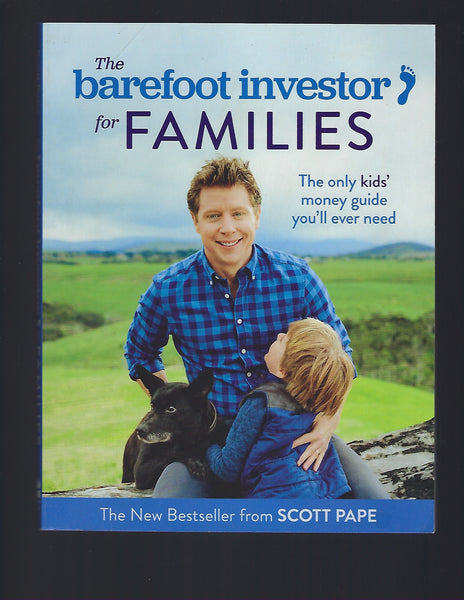 The Barefoot Investor for Families - Scott Pape - BREF15159 - BOO