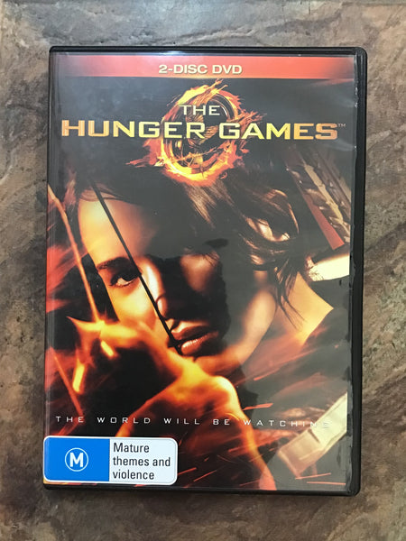 DVD - The Hunger Games - M - DVDAC DVDSF - GOL