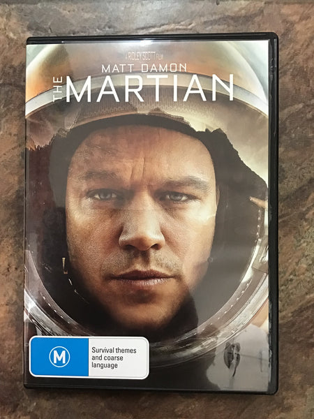 DVD - The Martian - M - DVDSF DVDDR - GOL