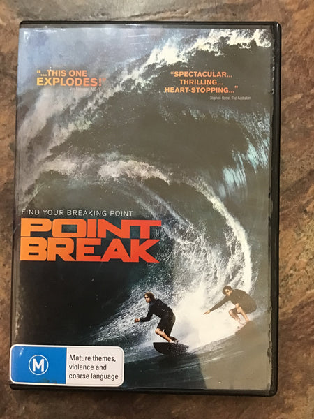 DVD - Point Break - MA15+ - DVDAC - GOL