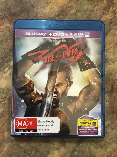 Blu-Ray - Rise of An Empire - MA15+ - DVDSF DVDAC - GOL