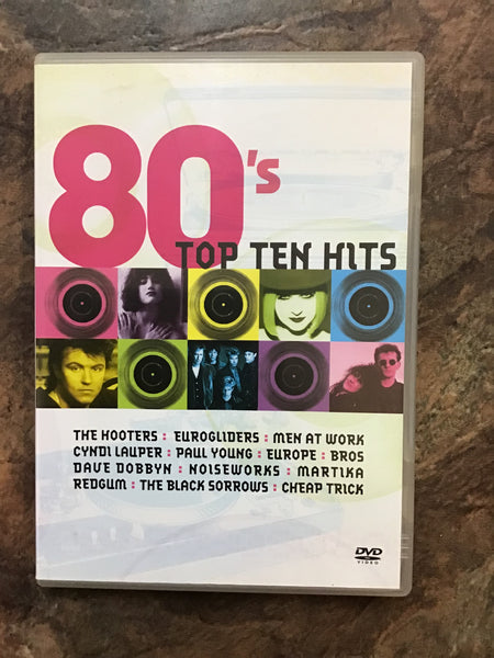 DVD - 80's Top 10 Hits - DVDMU - GOL