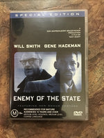 DVD - Enemy of the State - MA15+ - DVDAC - GOL