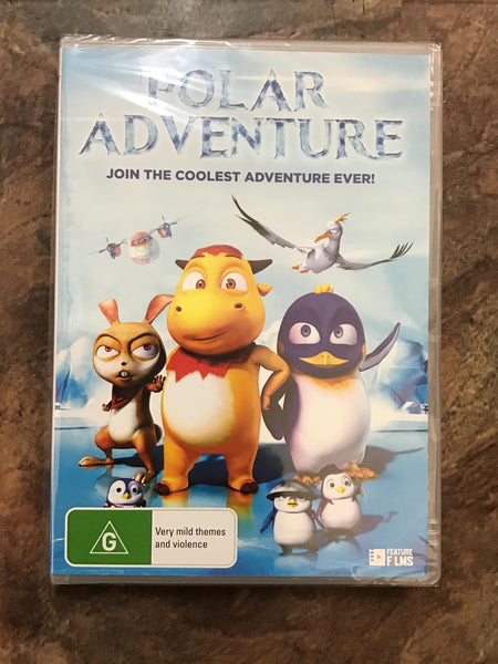 DVD - Polar Adventure - New - G  - DVDKF - GOL