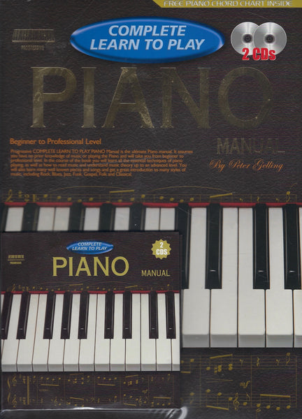 Complete Learn to Play Piano Manual - Peter Gelling - BMUS15374 - BCRA - BOO
