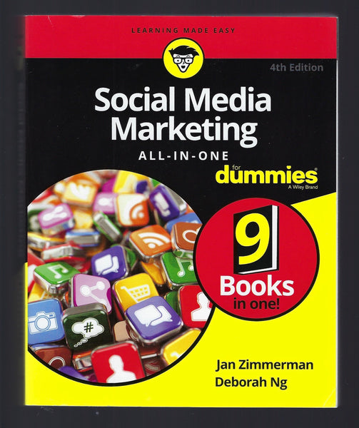 Social Media Marketing All-in-One for Dummies - Jan Zimmerman and Deborah Ng - BREF15024 - BTEX - BOO