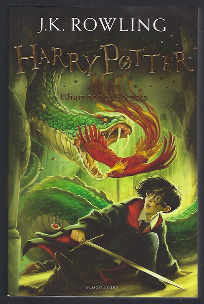 Harry Potter and the Chamber of Secrets - J.K. Rowling - BCHI15398 - BOO