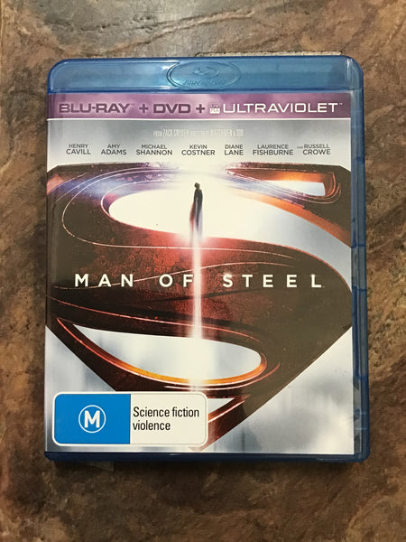 Blu-Ray - Man of Steel - New - M - DVDSF - GOL