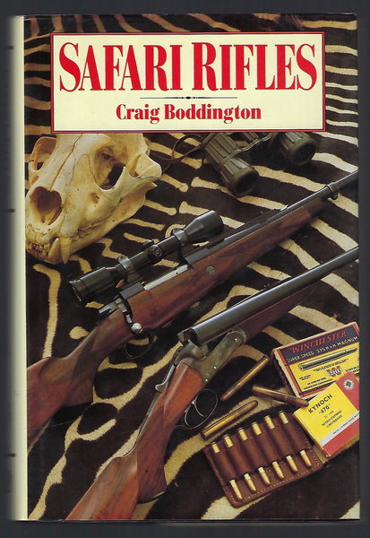 Safari Rifles - Craig Boddington - BCRA15161 - BRAR - BOO