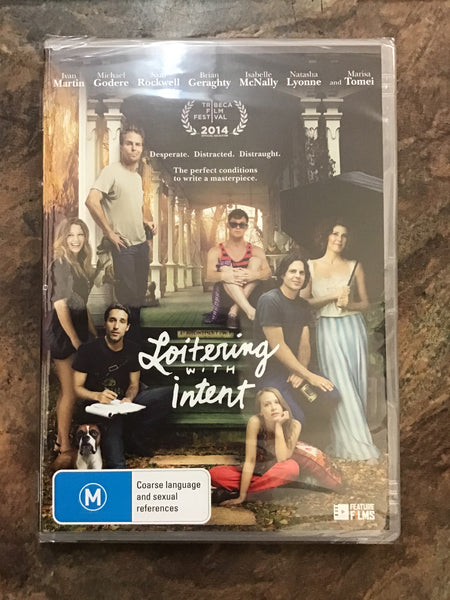 DVD - Loitering with Intent - New - M - DVDCO DVDDR - GOL